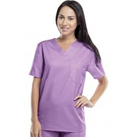 Cherokee Workwear Unisex V-Neck Top #34777A