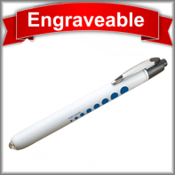 Metalite™ Reusable Penlight with Pupil Gauge  #352-WP