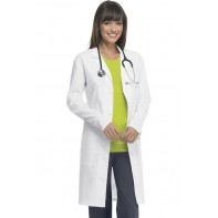 "Code Happy 38"" Unisex Lab Coat #36400AB"