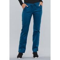 Cherokee Workwear Mid Rise Slim Drawstring Pant #4203P