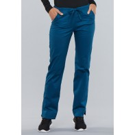 Cherokee Workwear Mid Rise Slim Drawstring Pant #4203