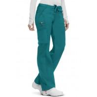 Code Happy Low Rise Straight Leg Drawstring Pant #46000ABT