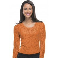 Cherokee Workwear Long Sleeve Underscrub Knit Tee #4882