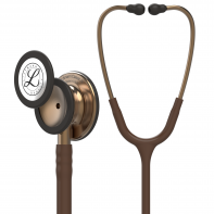3M™ Littmann® Classic III™ Monitoring Stethoscope, Copper-Finish Chestpiece, Chocolate Tube, 27 inch, 5809