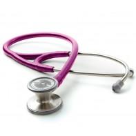 Adscope® 601 Convertible Cardiology Stethoscope #601-Metallic Raspberry
