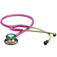 Adscope® 603 Clinician Stethoscope-Iridescent Metallic Rasp