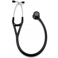 OOPS-6150-22 3M™ Littmann® Cardiology IV™ Diagnostic Stethoscope, Standard-Finish Chestpiece, Black Tube, 27 inch