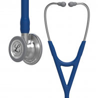 3M™ Littmann® Cardiology IV™ Diagnostic Stethoscope, Standard-Finish Chestpiece, Navy Blue Tube, 27 inch, 6154