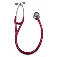 OOPS-6158-10 3M™ Littmann® Cardiology IV™ Diagnostic Stethoscope, Standard-Finish Chestpiece, Raspberry Tube, 27 inch