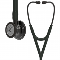 3M™ Littmann® Cardiology IV™ Diagnostic Stethoscope, Smoke-Finish Chestpiece, Black Tube,  Smoke Stem and Headset, 27 inch, 6162