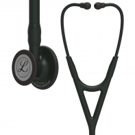 3M™ Littmann® Cardiology IV™ Diagnostic Stethoscope,  Black-Finish Chestpiece, Black Tube, Stem and Headset, 27 inch, 6163