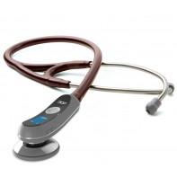 Adscope 658 Electronic Stethoscope-Burgundy