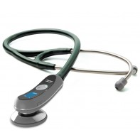 Adscope 658 Electronic Stethoscope-Dark Green