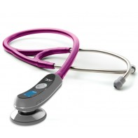 Adscope 658 Electronic Stethoscope-Metallic Raspberry