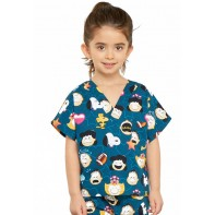 Tooniforms Kids Top and Pant Scrub Set #6620C