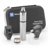 Welch Allyn Coaxial Ophthalmoscope, MacroView Basic w/ NiCad Power Handle 3.5V Diagnostic Set #71-SM2CXX