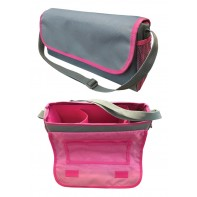 Nurse Car-Go™ Bag #771-Grey/Pink