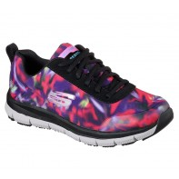 Skechers WORK Footwear - Comfort Flex SR HC PRO  #77217-Purple/Multi