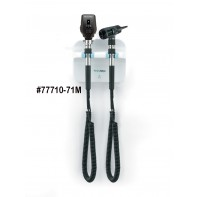 Welch Allyn GS 777 Wall Transformer Set  w/ Coaxial Ophthalmoscope and MacroView Otoscope #77710-71M