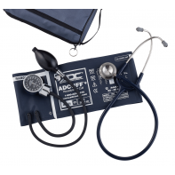 ADC Pro's Combo III™+ Pocket Aneroid/Clinician Scope Kit with Adcuff+#778-603-11AN1