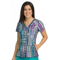Activate by MedCouture Print Sport Top  #8521-SQRO