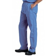 Landau Men's Elastic with Zipper Fly Scrub Pants #8550