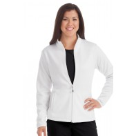 Activate by Med Couture Women's Med Tech Zip Front Solid Scrub Jacket # 8684