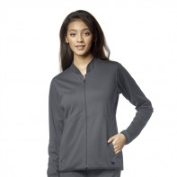 WonderWink Aero Women's PONTE Knit Warm Up Jacket #8919
