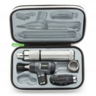 Welch Allyn Diagnostic Set with Macroview Otoscope #23820 and Coaxial Ophthalmoscope #11720 and Ni-Cad Handle & LED BULBS  #97200-MCL