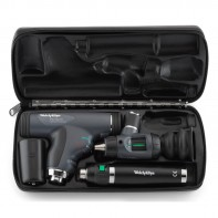 Welch Allyn PanOptic Diagnostic Set with Macroview Otoscope #23820, PanOptic Ophthalmoscope #11820 and Lithium-Ion Handle #97200-MPS