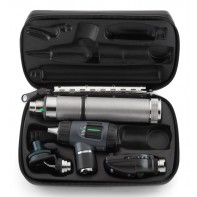 Welch Allyn Diagnostic Set Welch Allyn Diagnostic Set with Macroview Otoscope #23820 and Coaxial Ophthalmoscope #11720 and Ni-Cad Handle & Nasal Illuminator #97210-M