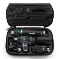 Welch Allyn Diagnostic Set with Macroview Otoscope #23820, Coaxial Ophthalmoscope #11720, Nasal illuminator and Lithium-Ion Handle  #97210-MS