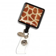 ID Avenue Badge Reels / Retractable ID Holder  #BEG-0001- Giraffe