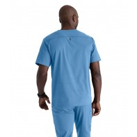 Barco Grey's Anatomy Men's 2PKT V-Neck Top #GRST079