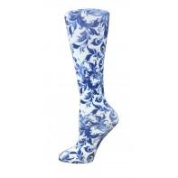 10-18 mmHg, Printed Compression Socks