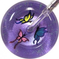 UltraScope Cardiology Stethoscope with Butterfly Design #0038-Lavender