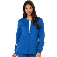 Code Happy Zip Front Warm-Up Jacket #CH312A