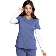 Code Happy V-Neck Top #CH602A