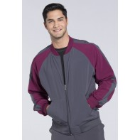 Cherokee Men's Colorblock Zip Up Warm-Up Jacket #CK330A