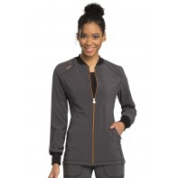 Cherokee Zip Front Warm-up #CK380A