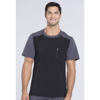 Cherokee Men's Colorblock Crew Neck Top #CK630A