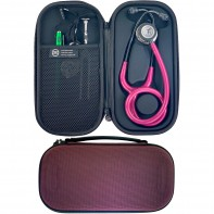 Pod Technical Classic Micro Stethoscope Case- Burgundy
