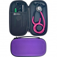 Pod Technical Classic Micro Stethoscope Case- Purple