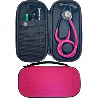 Pod Technical Classic Micro Stethoscope Case- Raspberry