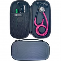 Pod Technical Classic Micro Stethoscope Case- Smoke