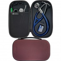 Pod Technical Cardiopod II Hard Stethoscope Case - Burgundy
