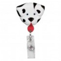 PediaPals Retractable ID Tag Holders-Dalmation #100140