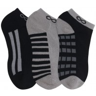 Cherokee 1-3pr pack of No Show Socks #DASH