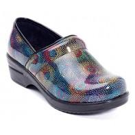 Savvy Nursing Shoes by Cutieful, Brandy, Blue Cube #SVB-FIRE