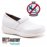 Grey's Anatomy Meredith Sport Softwalk Nursing Shoe #G1700-100 White Box (Call or e-mail for special pricing)
